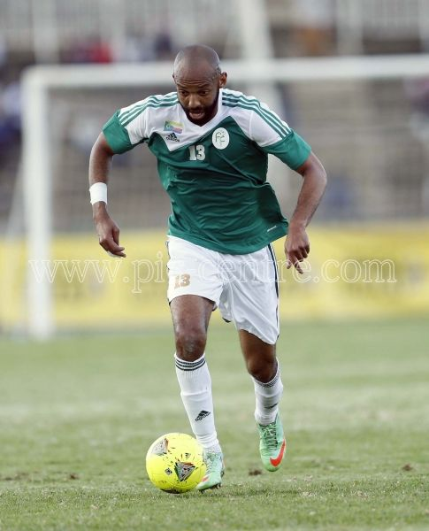 Rachidi Ibrahim of Comoros Island in action against Harambee Stars during their AFCON Preliminary match at Nyayo National Stadfium in Nairobi on May 18,2014.Kenya won 1-0.Photo/Stafford Ondego/www.piccentre.com