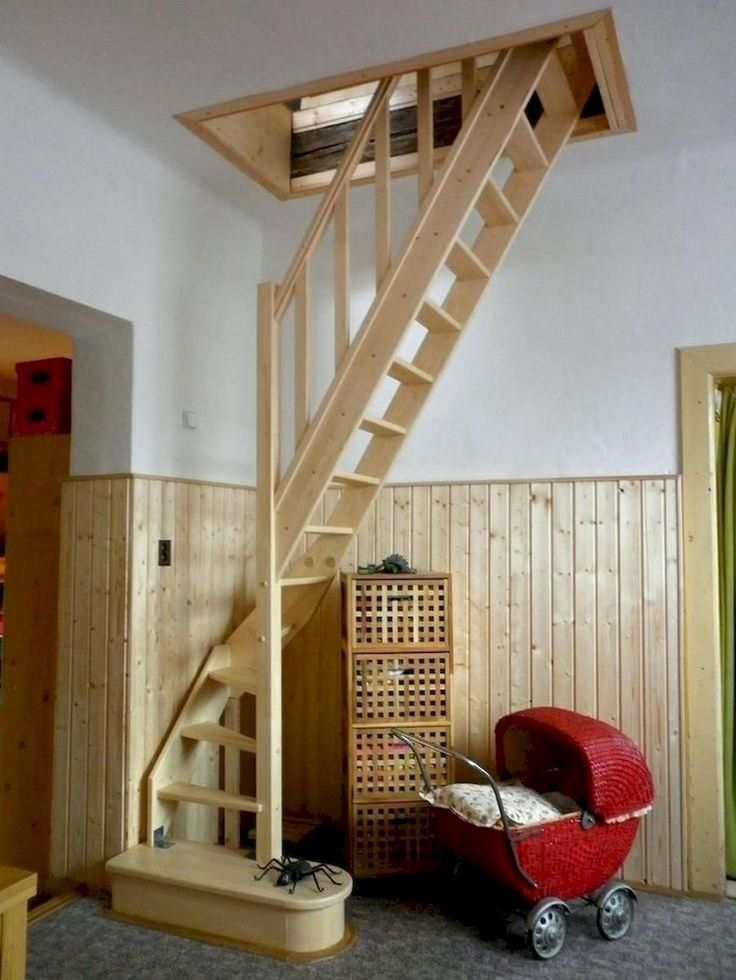 56 clever loft stair for tiny house ideas