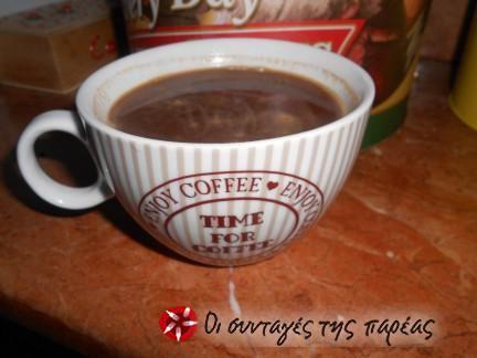 Ελαφρύ ρόφημα με κακάο και ελληνικό καφέ #sintagespareas