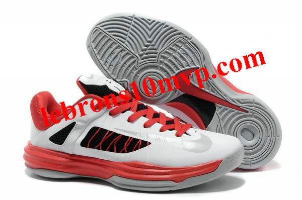 Nike Lunar Hyperdunk X Low 2012 White/Red/Grey
