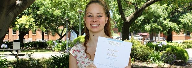 Hunter TAFE student tops state in HSC for Entertainment Industry Exam