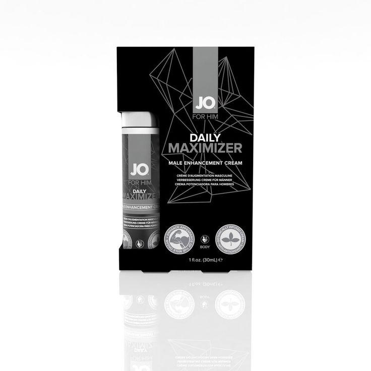 System Jo for Him Daily Maximizer Male Enhancement Cream - 1 Fl. Oz. #SystemJO