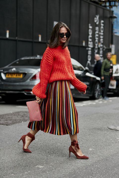 Los mejores looks de Street Style de la Fashion Week de Londres