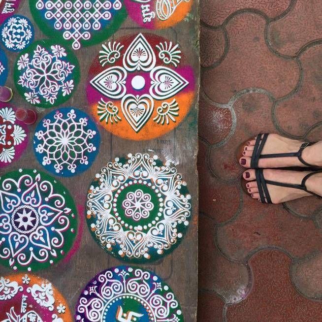 """Discovering the colors of #Diwali with @grandhyattmumbai"" -- @cucinadigitale #LivingGrand"