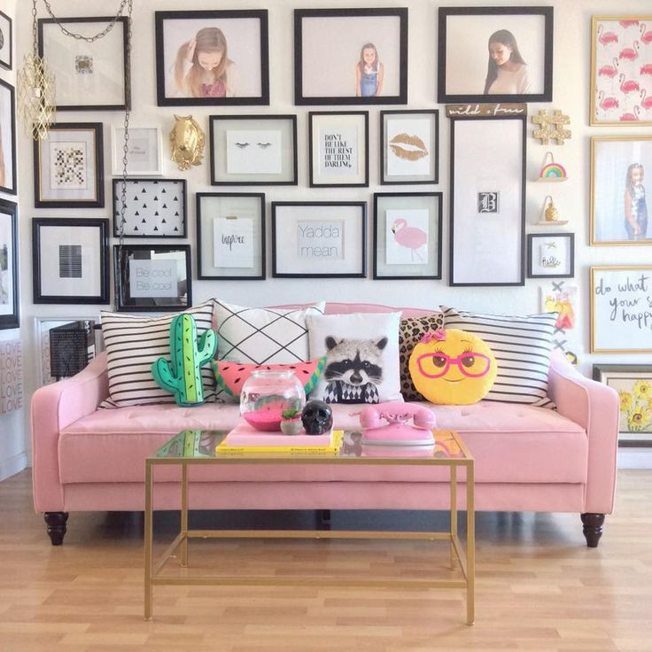 1000 ideas about pink sofa on pinterest vintage sofa Www home decor ideas