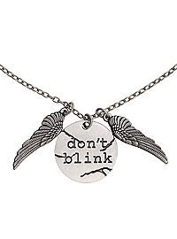 HOTTOPIC.COM - Doctor Who Don't Blink Necklace