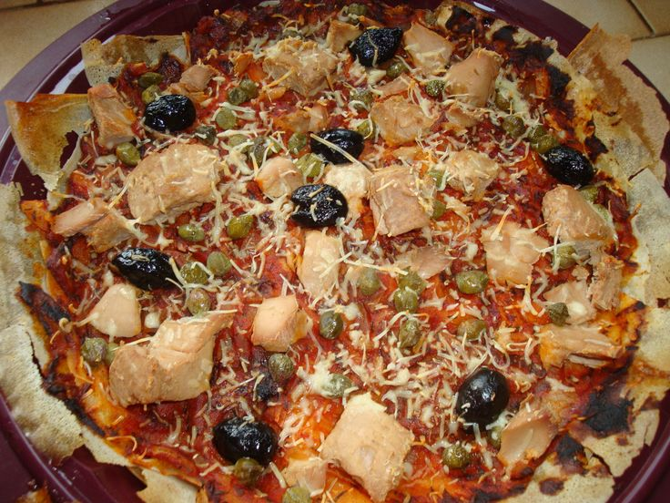 Weight Watchers!!! Pizza au thon