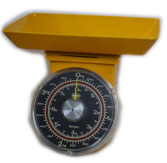 Fabulous Orange Sabco Kitchen Scales by AntiqueRetroVintage, $34.95