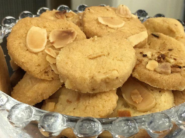 Biscoito Amanteigado de Amêndoas | Pães e salgados > Biscoitos | Mais Você - Receitas Gshow