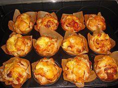 Blätterteig - Schinken - Muffins 8