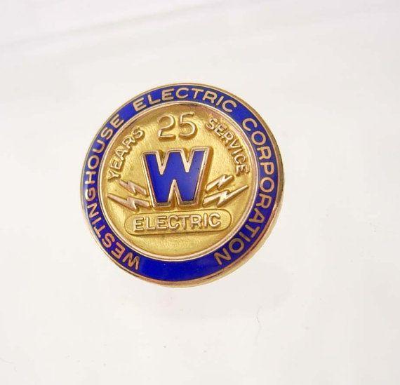 Vintage WestingHouse Electric Corp. pinback by NeatstuffAntiques, $85.00