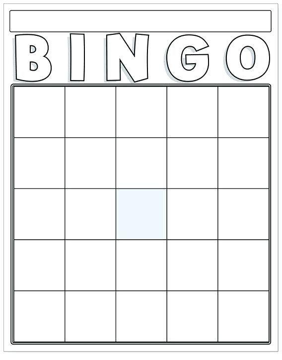 Best Blank Bingo Card Template Microsoft Word In 2021 Bingo Card Template Bingo Template Blank Bingo Cards