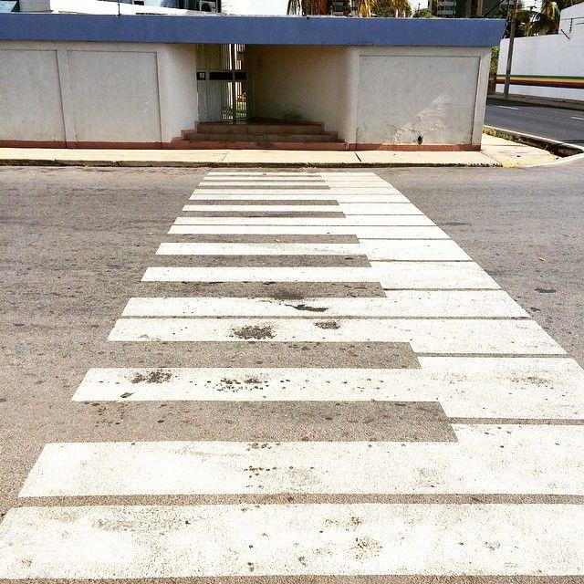 Strisce pedonali a pianoforte
