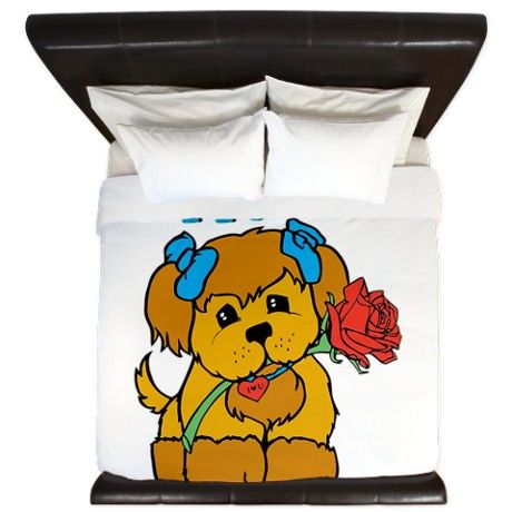 Puppy Love King Duvet