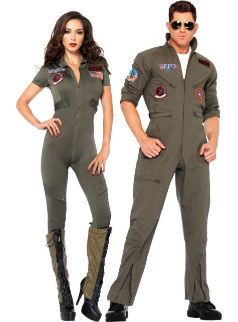Top Gun Couples Costumes - Party City
