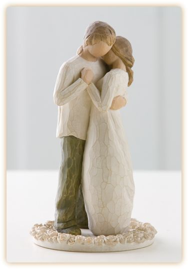 Willow tree cake topper to add to our collection :)