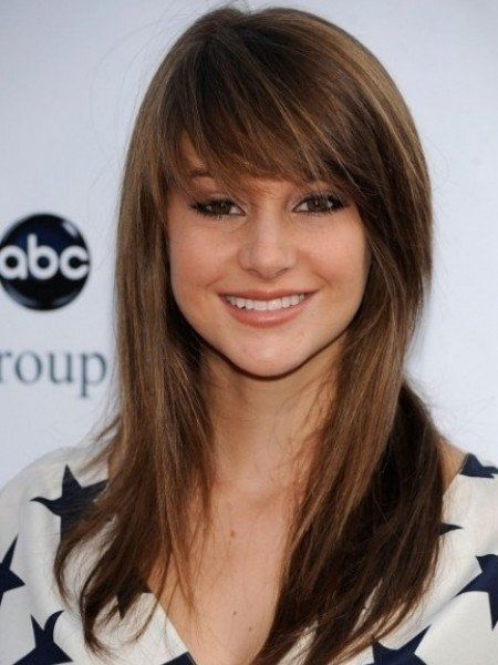 Miley Cyrus Cute Long Hairstyles With Layers Medium Long Haircuts With Layers And Bangs