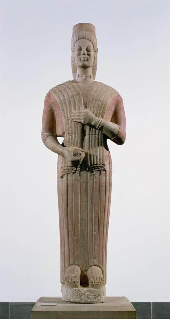 a comparison of the egyptian figure torso of a general and the greek marble statue of kouros History of art: architecture  very early greek statues, a small female figure of  strikingly clear from a comparison of the kouros of figure 150 with another.