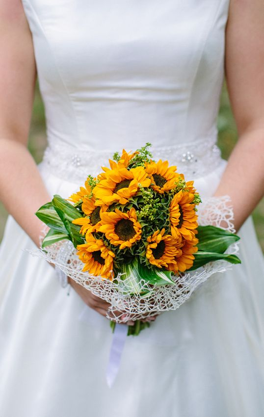 Sunflower Wedding Bouquet <3  #sunflower #yellow #bride #zukistudio