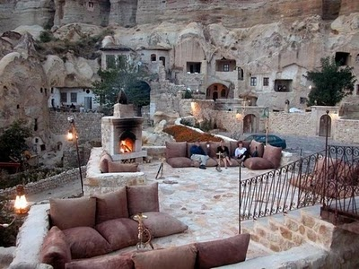 Cave Hotel,Turkey