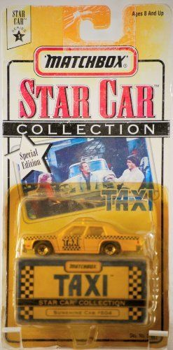 1997 Matchbox Star Car Collection TAXI #804 Sunshine Cab by Matchbox. $11.25. Taxi Matchbox. Stars Taxi Matchbox. Save 51% Off!
