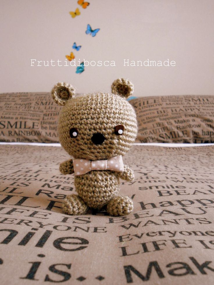 My Lovely Crochet Teddy Bear