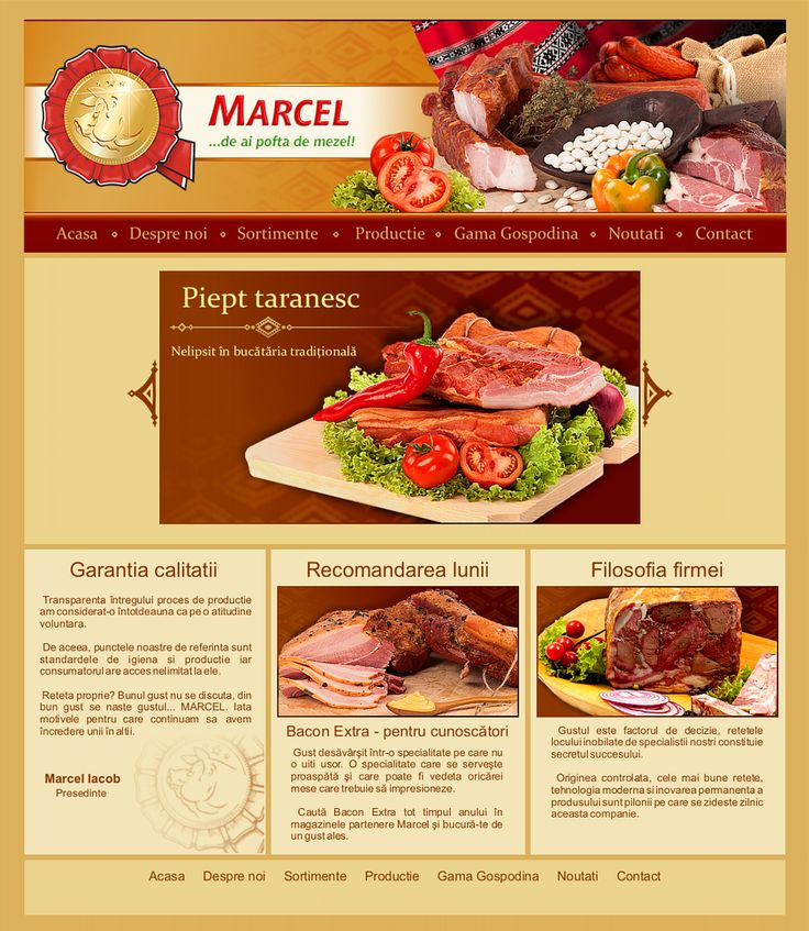 Marcel Website Graphic Design - Project in Work by Space Giant Advertising