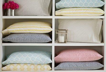 Deliciously at Home - Decor - Organization - Wellness: As melhores dicas para organizar roupas de cama e banho