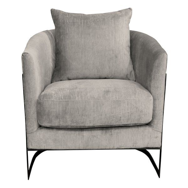 Bemott Barrel Chair Upholstered Accent Chairs Contemporary