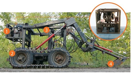Home Built Tractor Attachments : Images about home made machines on pinterest