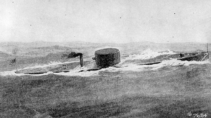 uss_monitor_at_sea Shipwrecked: 7 Losses at Sea that Changed the Course of History