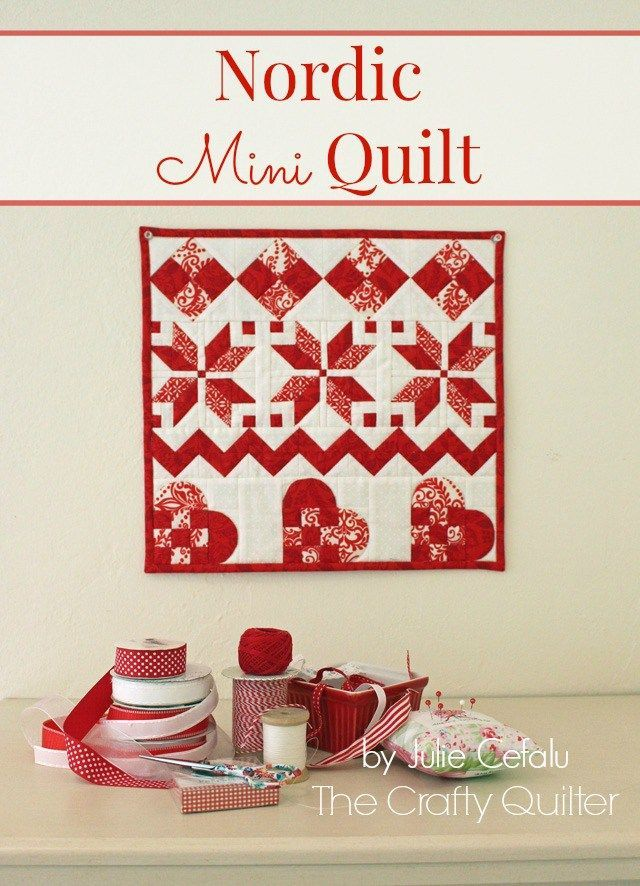 Nordic Mini QAL, Row 4 and Finishing - The Crafty Quilter