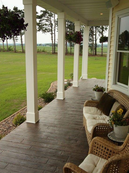 Las 25 mejores ideas sobre porches de obra en pinterest y for Suelos para porches