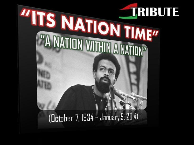 ITS NATION TIME, A RBG RIU Tribute to Dr. Imamu Amiri Baraka (2 Vids.) by RBG Communiversity via slideshare