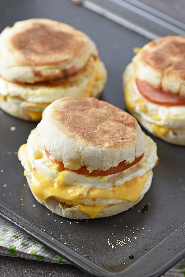 Homemade McDonald's Egg McMuffin Copycat Recipe. Homemade is everything when you need simple, quick, and easy for an on the go breakfast.