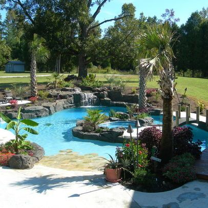Lazy River In Yard House Pinterest Shelves Lazy River Pool And