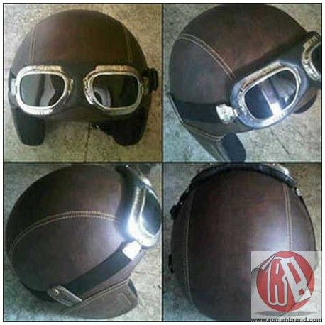 Helm Classic (HC-8) @Rp. 215.000,-  http://rumahbrand.com/helm-kustom/847-helm-classic.html