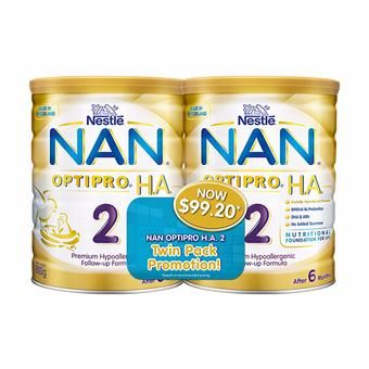 Buy Nestlé® NAN® OPTIPRO® H.A. 2 Follow-up Formula 2x800g online at Lazada. Discount prices and promotional sale on all. Free Shipping.