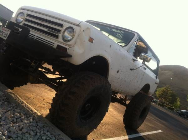International Scout Rock Crawler : Best images about scout on pinterest cars the