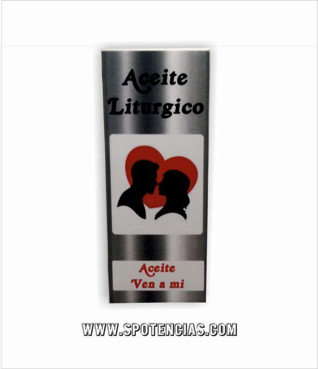 aceite ven a mi para rituales de atraccion amorosa  www.spotencias.com