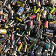 Batteries release heavy metals and other toxic materials when deposited into landfills. Don't pollute - recycle your batteries!