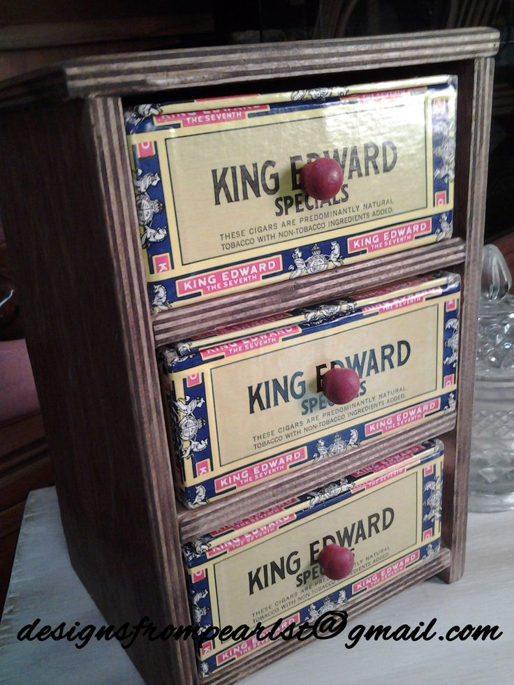 The 181 best images about cigar box crafts on pinterest for Cardboard cigar box crafts