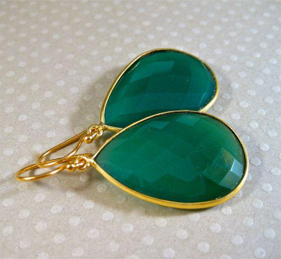 Emerald Green Earrings Etsy 4 Biżu In 2018 Pinterest And