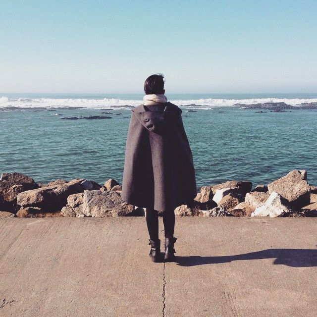 The sea and the #capucha! #unfollowers #antiselfie @farfetch #farfetch…