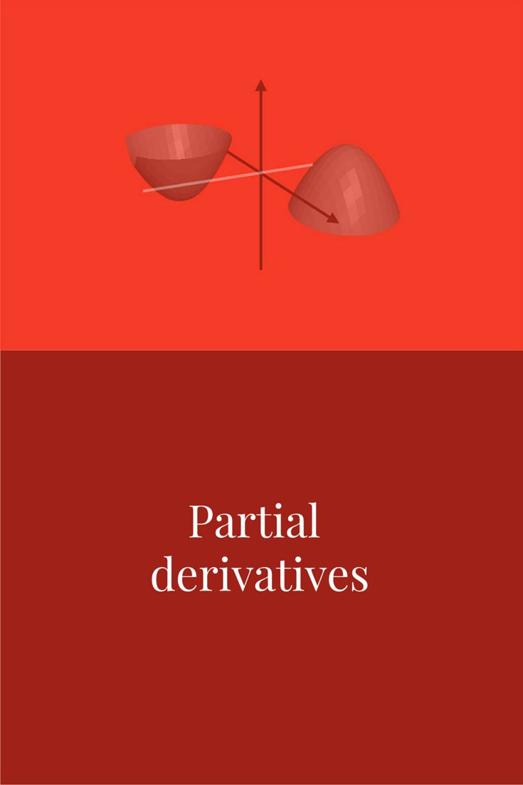 When a function is defined in terms of two or more variables, the function's derivative is actually a collection of partial derivative equations. The course is divided into 12 sections: Limits and continuity Partial derivatives Tangent planes and normal lines Linear approximation and linearization Differentials Chain rule Implicit differentiation Directional derivatives Gradient vectors Optimization Applied optimization Lagrange multipliers