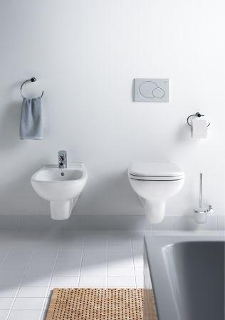 Arredo bagno Duravit - D-Code: WC, bidet, lavabi nelle serie per il bagno di Sieger Design - #arredobagno