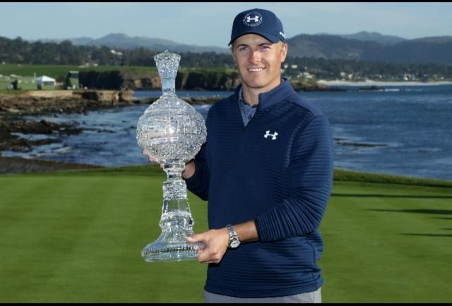 2017 ATT Pebble Beach Pro Am Champion!  Jordan Spieth
