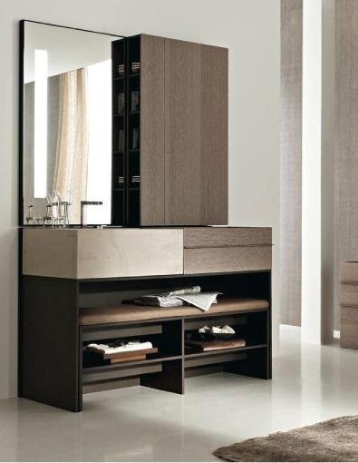 """""""Elements"""" modular bathroom system for Toscoquattro by Vincent Van Duysen."""