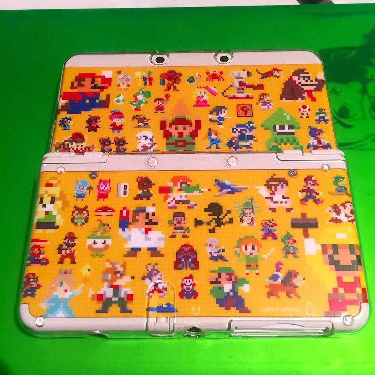 By wil182: Looks gorgeous! #new3ds #nintendo #coverplates #mariomaker #3ds #igersnintendo #retro #8bits #link #mario #ssmb #freak #videogames #luigi #animalcrossing #splatoon #donkeykong #kidicarus #triforce #freak #gameboy #yoshi #lovegaming #gamer #gaming #8bits #microhobbit