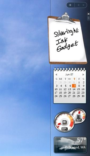 The Windows Desktop Gadgets (called Windows Sidebar in Windows Vista) is a widget engine for Microsoft Gadgets, with program name sidebar.exe. It was introduced with